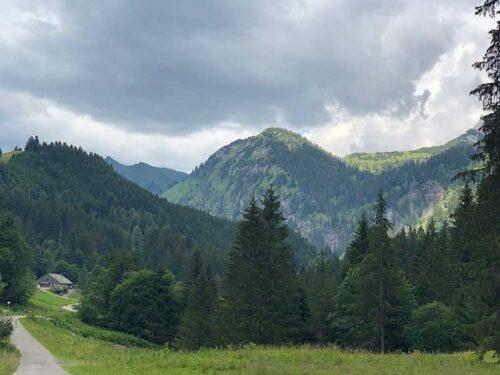 Das Allgäu bei Bad Oberdorf/Hindelang