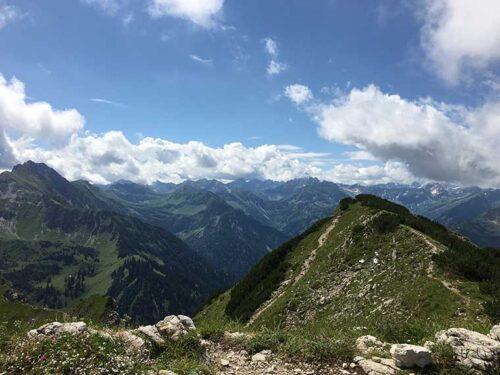 Gipfel bei Bad Oberdorf/Hindelang