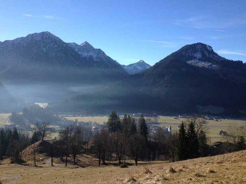 Gebirgszug bei Bad Oberdorf/Hindelang
