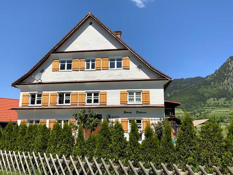 Haus Oyben bei Bad Oberdorf/Hindelang