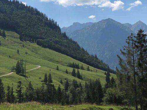 Berg-Panorame